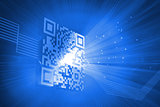 Digitally generated barcode