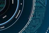 Futuristic technological background
