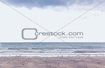 Cloudy landscape background
