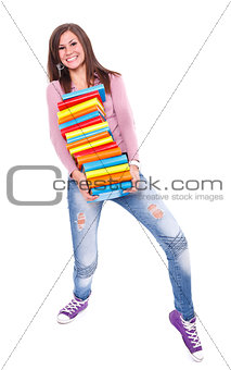 Carrying books