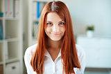 Ginger-haired girl