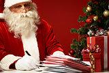Writing Christmas wishes
