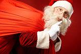 Santa coming