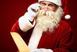 Kind Santa Claus