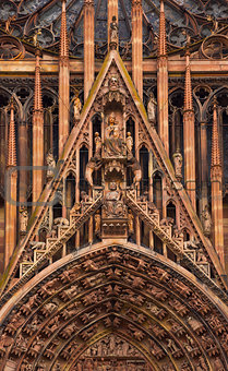 cathedral of Notre-Dame at Strasbourg, France