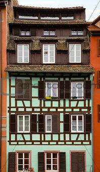 old house in Strasbourg