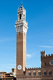 Tower in Siena Italy