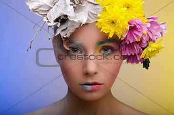 Beauty in a wreath