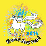 happy new horse year