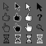 Mouse pixel cursors