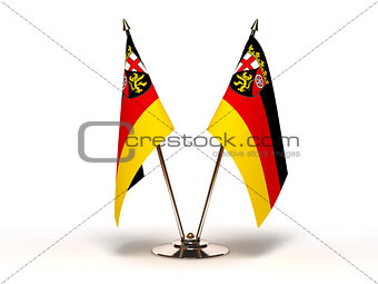 Miniature Flag of Rhineland Palatinate