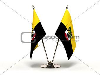 Miniature Flag of Saxony Anhalt