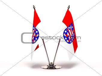 Miniature Flag of Thuringia