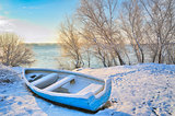 boat near danube river