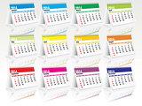 2014 desk calendar set
