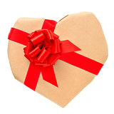 heart-shaped gift