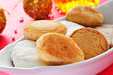 mantecados and polvorones, typical christmas sweets in Spain