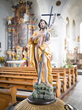 Statue in Sanct Georg church