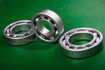 bearing on green