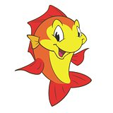 Red Yellow Fish