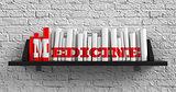 Medicine. Education Concept.