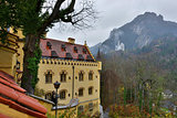 Hohenschwangau castle in Germany.