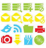 Internet icons database