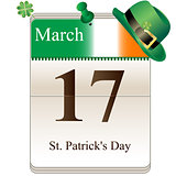 St Patricks Day Calendar