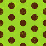 Seamless grungy green pattern