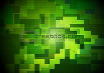 Abstract bright vector design