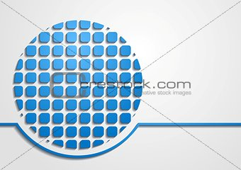 Bright modern technology background
