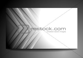 Abstract grey tech business template