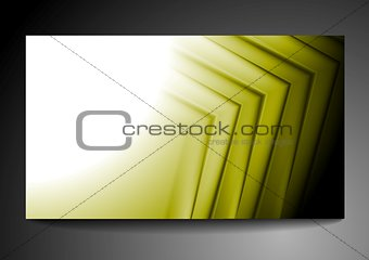 Abstract vibrant tech business template
