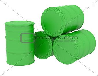 Green barrels natural fuel