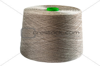 Linen natural yarn bobbin