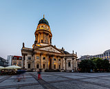 German Cathedral on Gendarmenmarkt Square in the Evening, Berlin