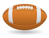 ball for american football vector illustration