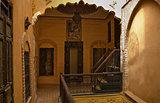 Riad court