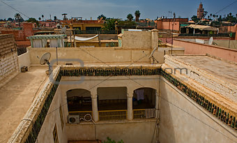 Riad higt views