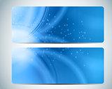 Abstract Aqua Background Card Vector Iillustration