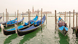Beautiful Blue Gondolas