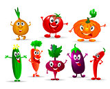 Funny vegetables.