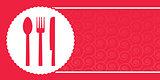 background for restaurant menu