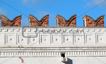 Century monastery fortress wall
