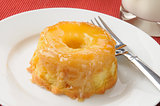 Pinapple upside down cake