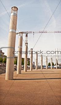 Cardiff Pier Columns