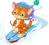 Fast fun Kitten