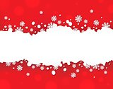 Snowflake theme background 5