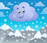 Winter cloud theme image 2