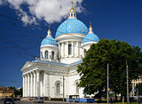 The Trinity Cathedral, St. Petersburg, Russia